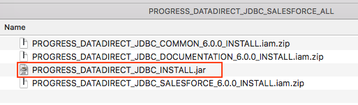 jdbc driver for salesforce and aws glue